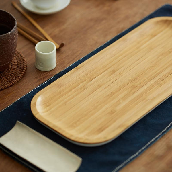 Natural Bamboo Multipurpose Serving Tray at Lifeix Design