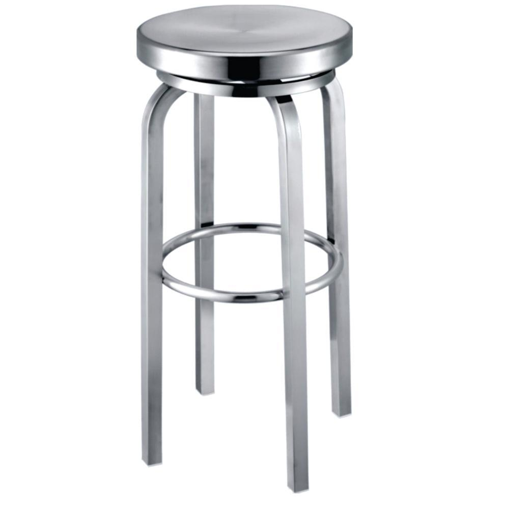 Aluminum Navy Counter Chair