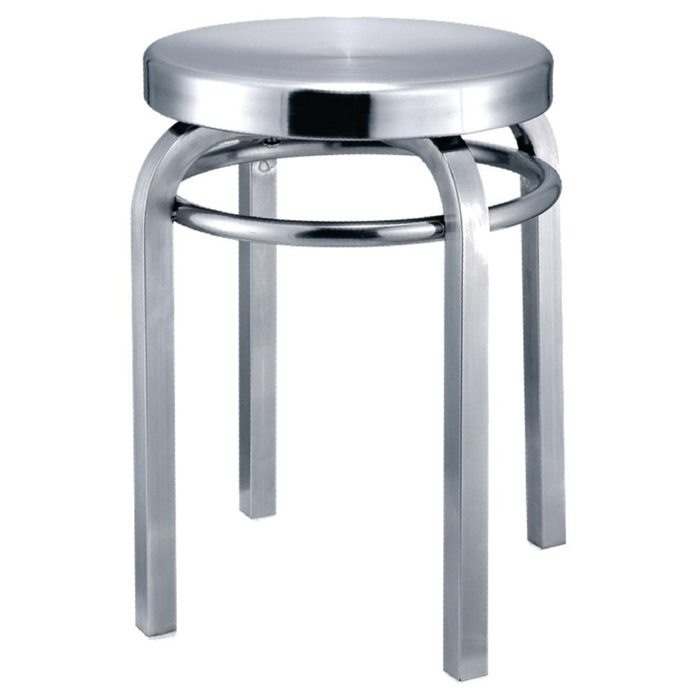 Aluminum Navy Stool Chair