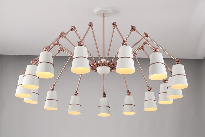 OCTOPUS Ajustable Metal Pendant Light at Lifeix Design
