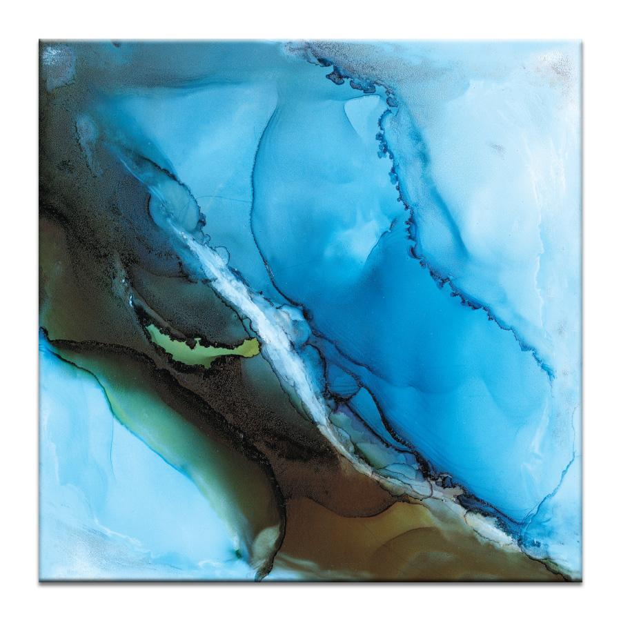 "Artwork 16x16x1.5"" Over Oceana Artwork by Donna Weathers"