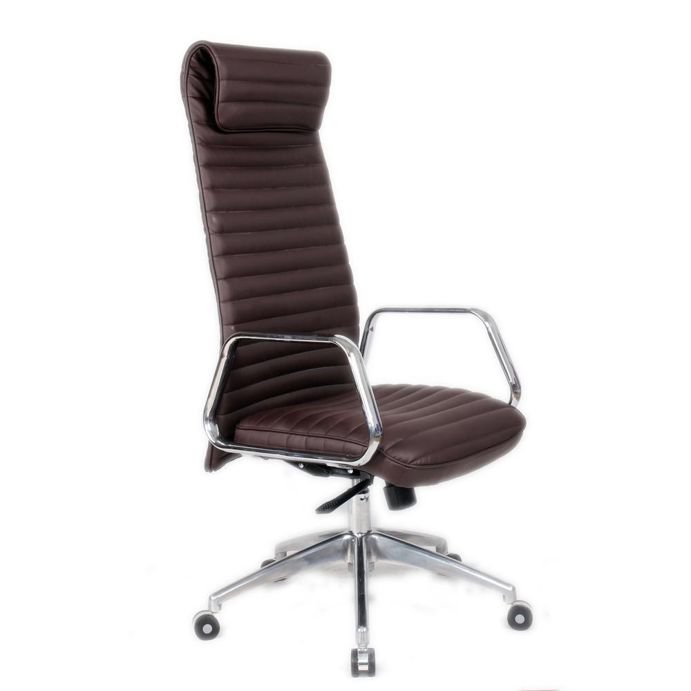Dark Brown Ox Office Chair High Back