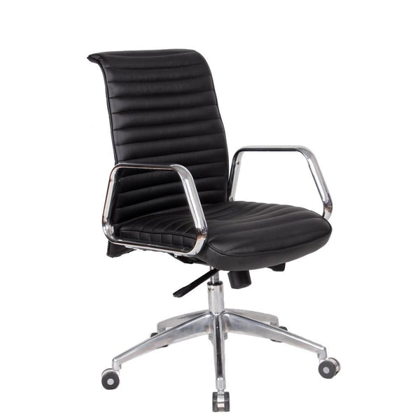 Black Ox Office Chair Mid Back