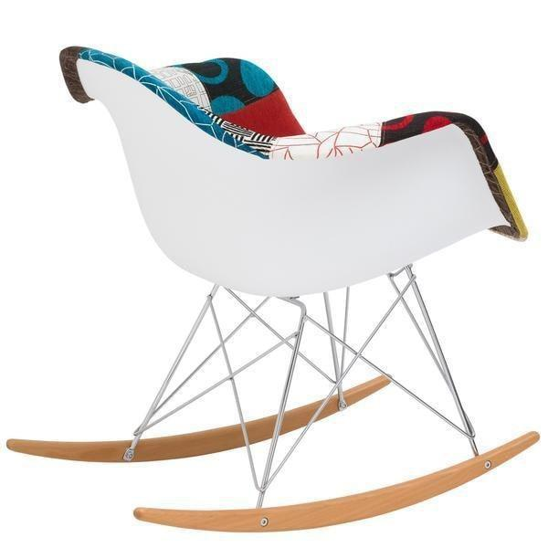 Chairs Padded Rocker Lounge Chair