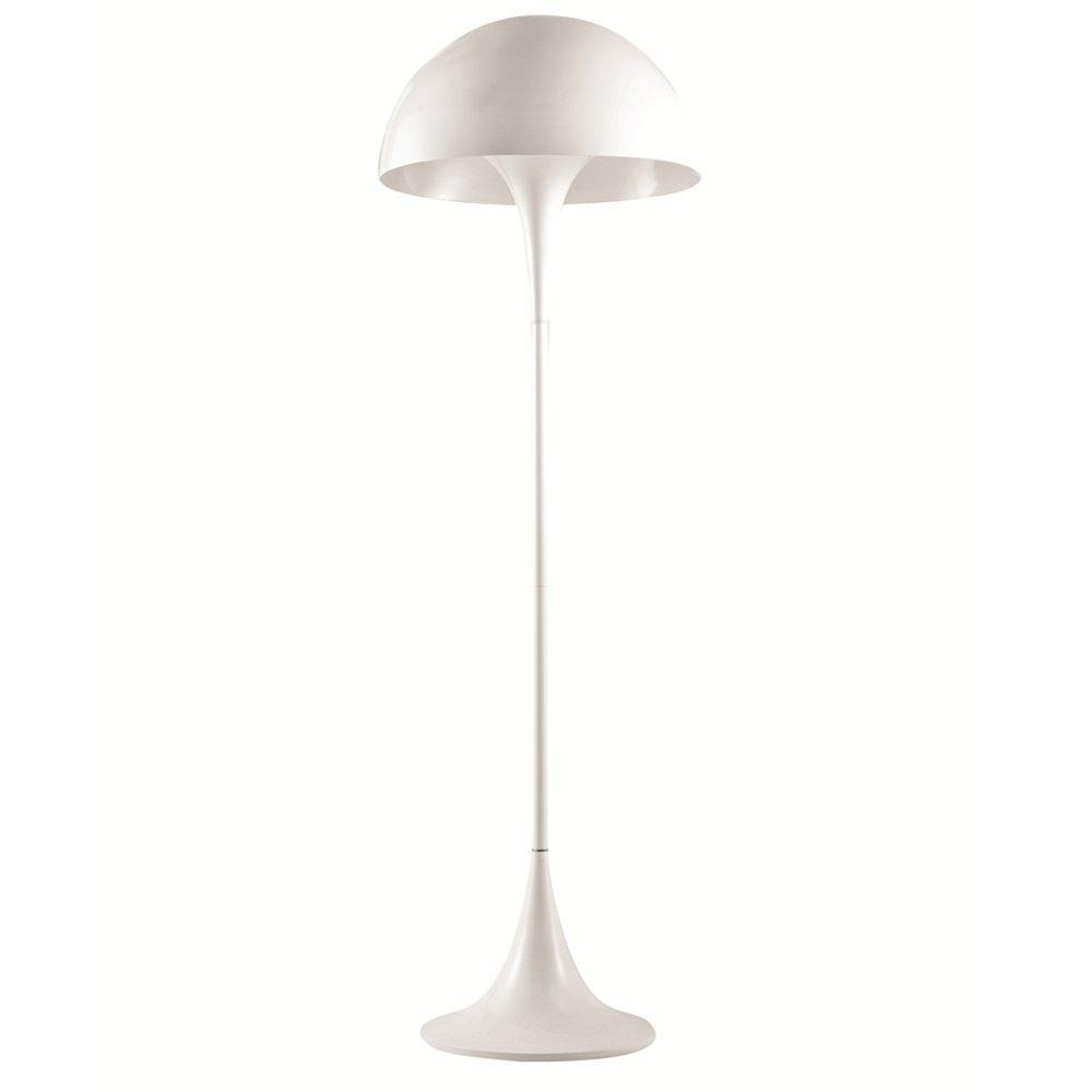 White Panton Floor Lamp