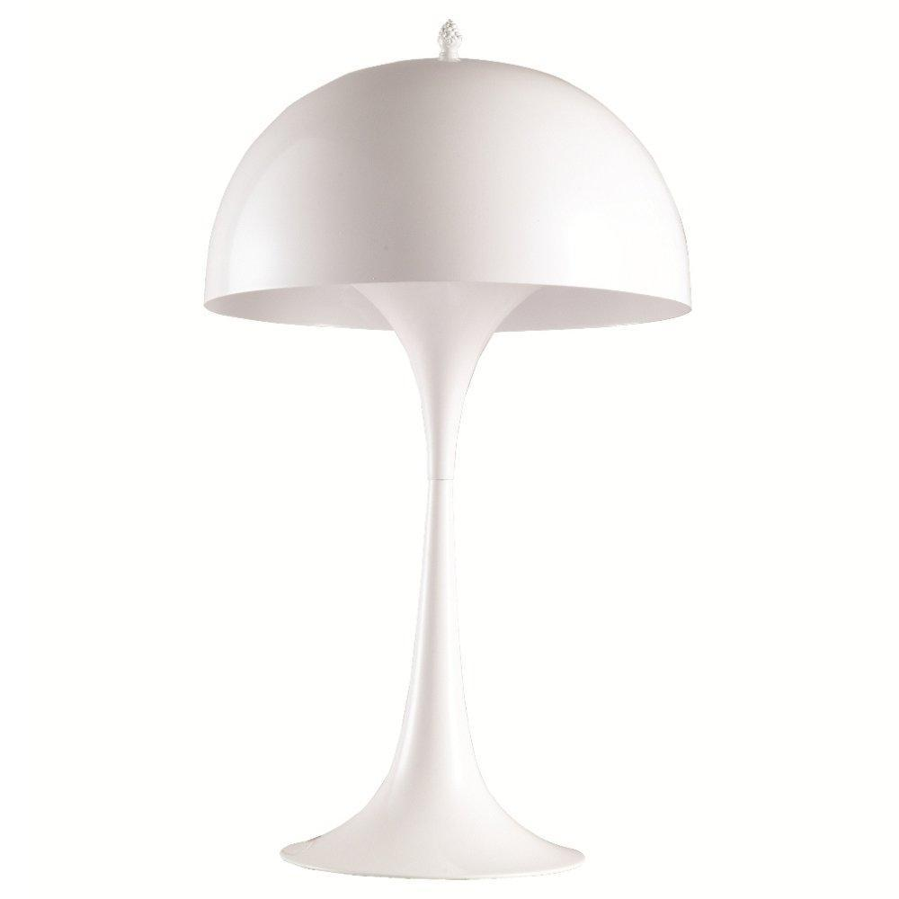 White Panton Table Lamp