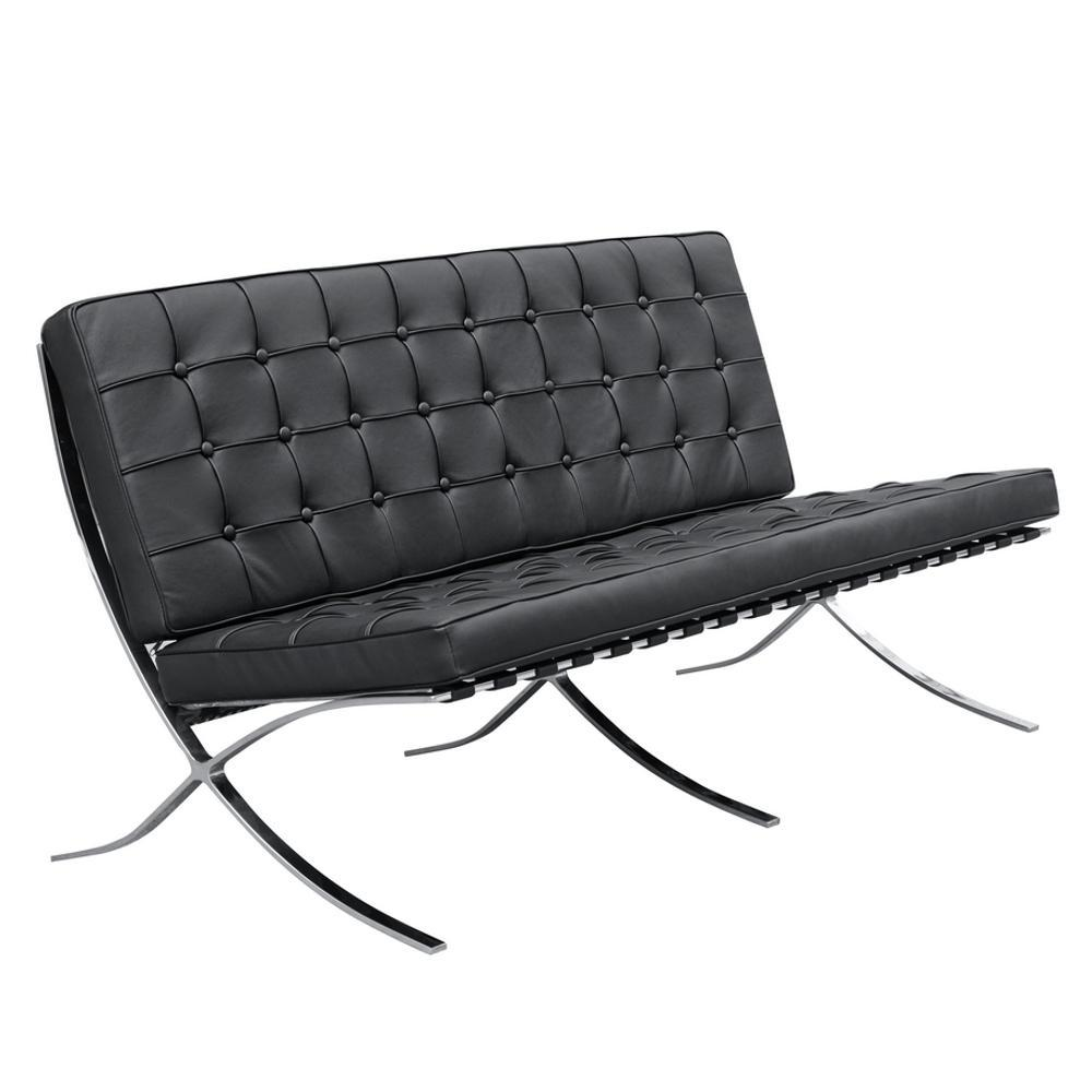 Black Pavilion Loveseat