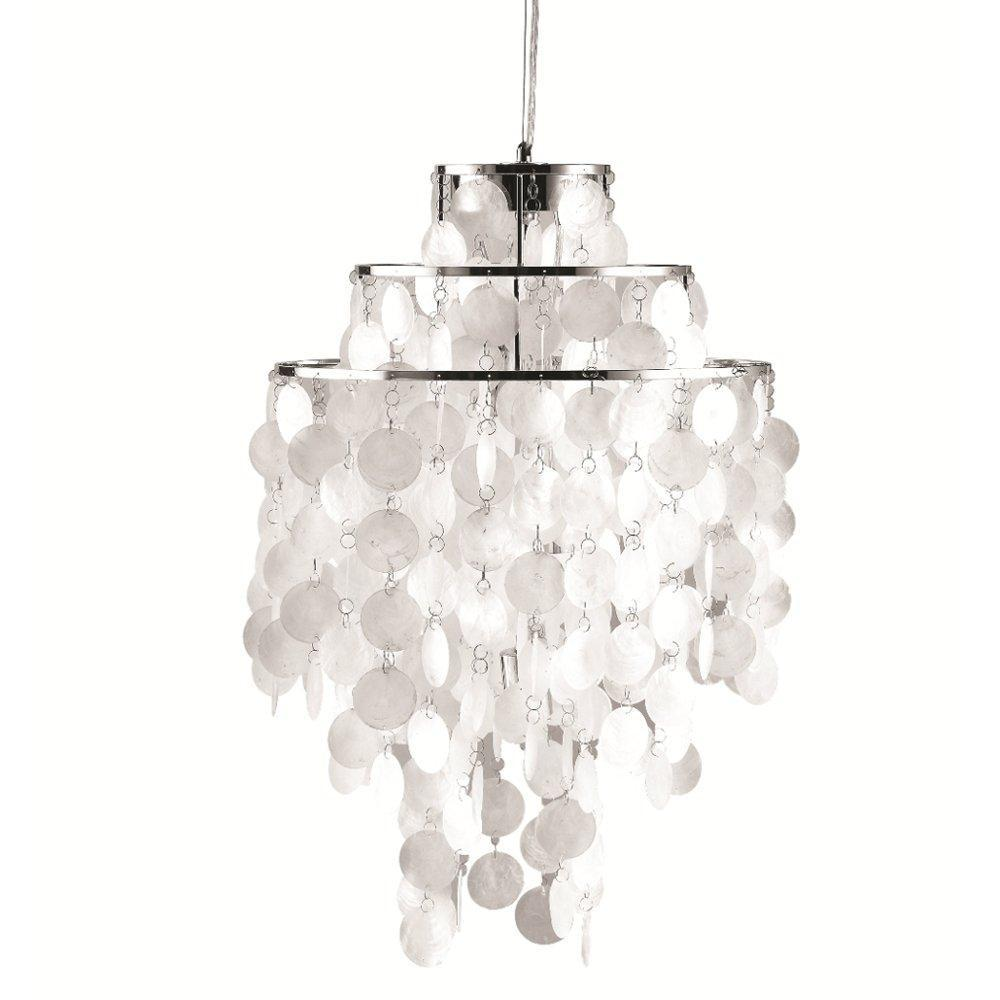 Mother of Pearl Pearl Hanging Chandelier