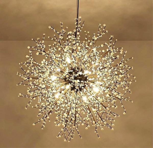 Buy Pearl Tree Branches With Bulbs Creative Sphere Glass