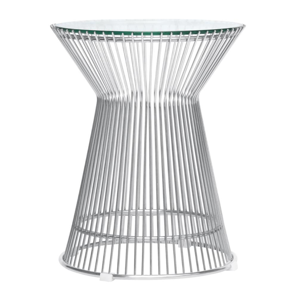 Clear Platner Side Table