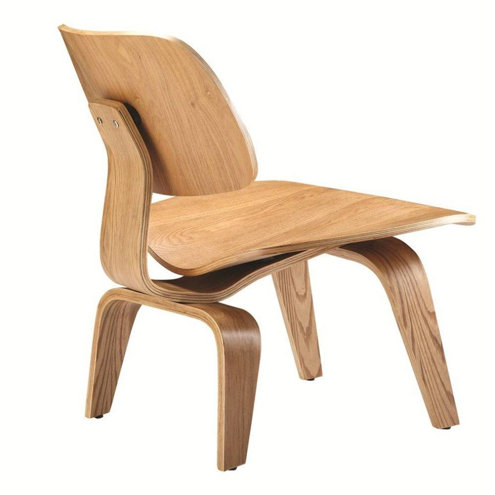 Natural Plywood Lounge Chair