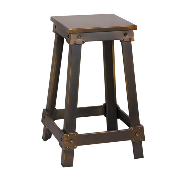 Copper Porch Counter Stool