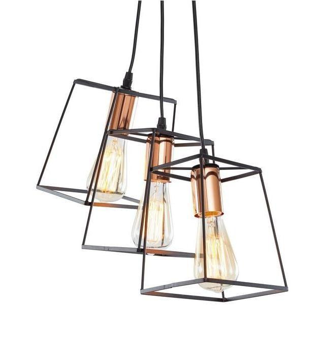 Port Hadlock Three-Light Pendant at Lifeix Design