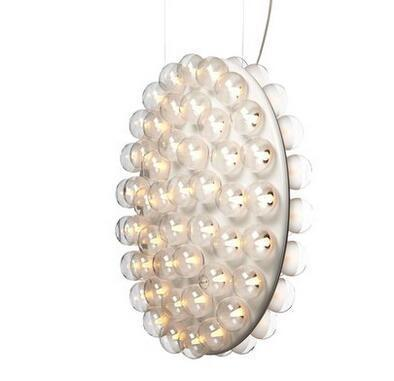 Post-Modern Pot Style Hanging Lamp at Lifeix Design