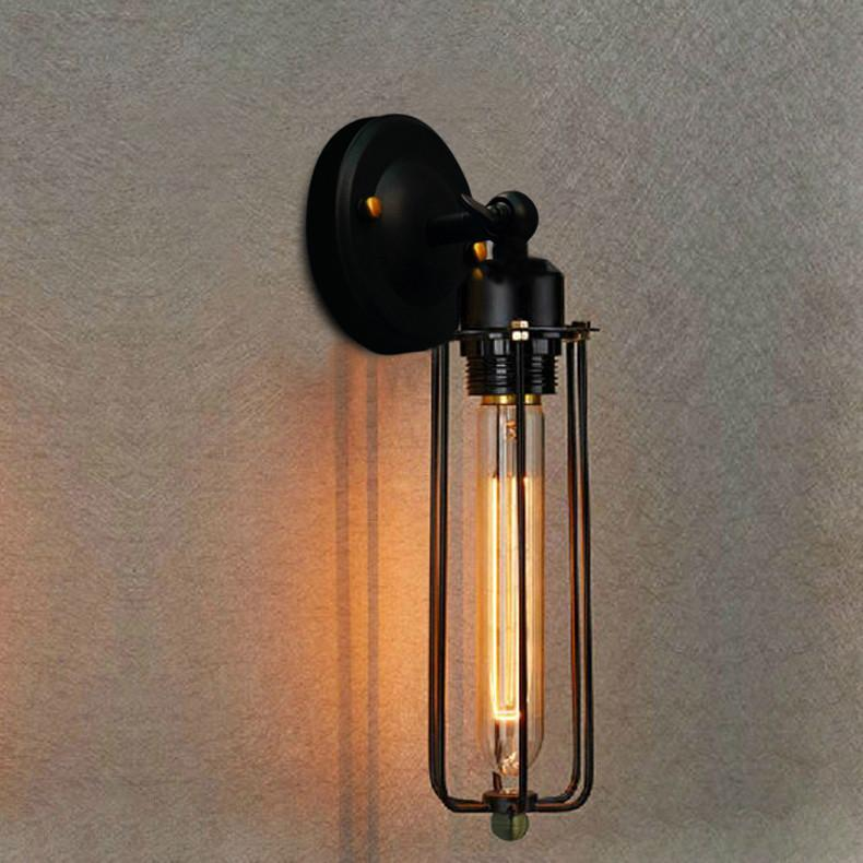 Post-Modern & Retro Style Edison Wall Light - Vintage Loft Lighting at Lifeix Design