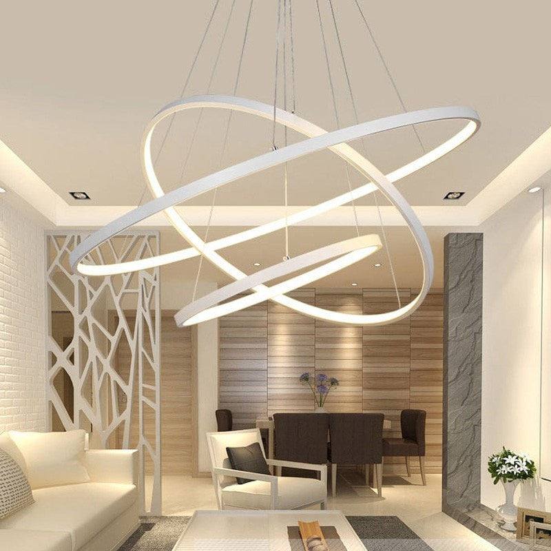 Ceiling Light Remote Control LED Ceiling Light Modern Pendant ...