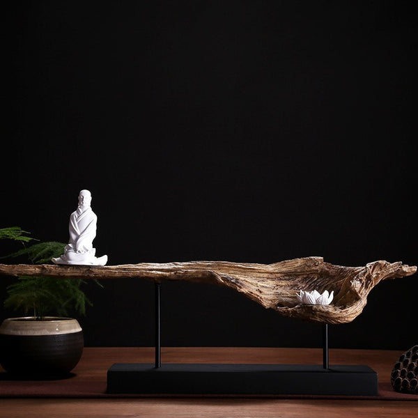 Resin Sculpture Zazen Buddha