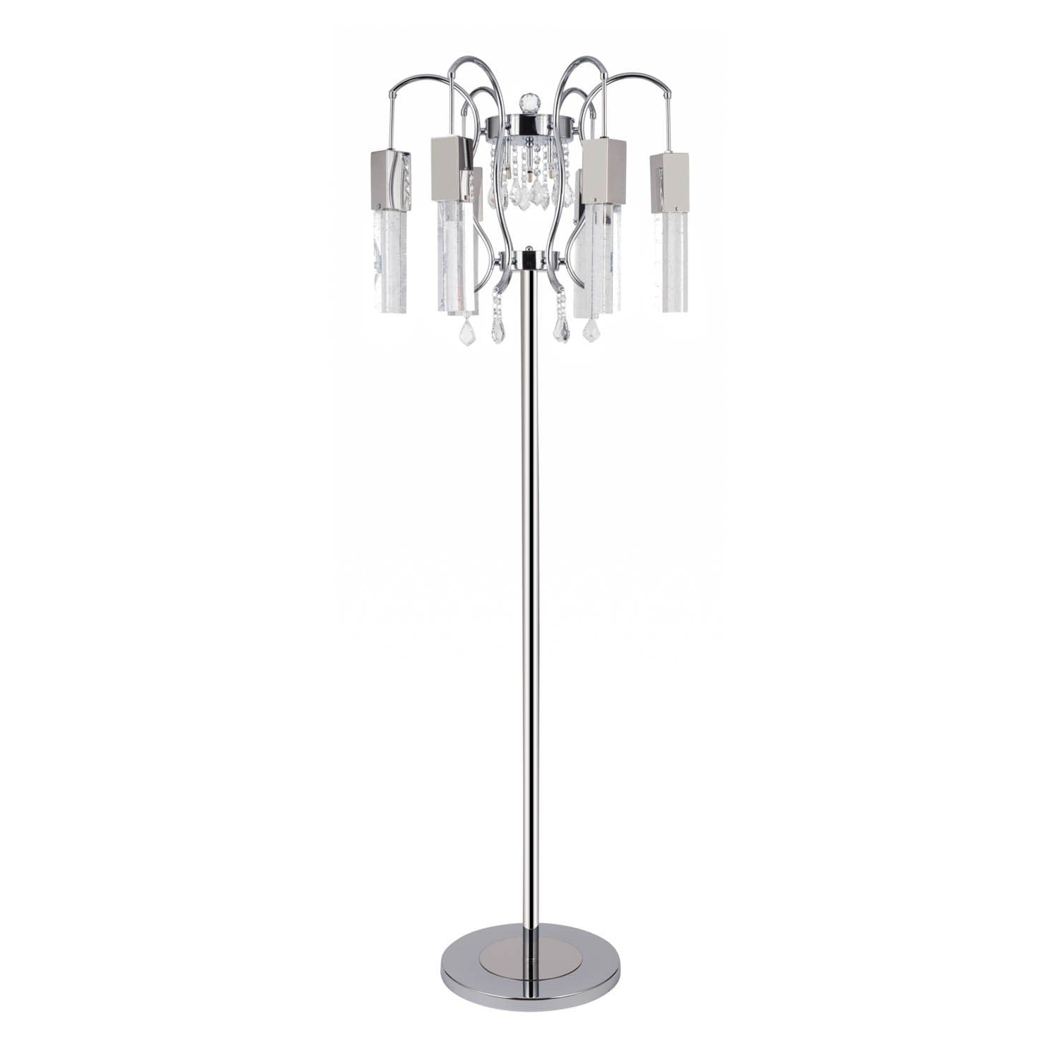 Pendant Floor Lamp: Buy Retro Chic Chandelier- Floor Lamp At Lifeix Design For