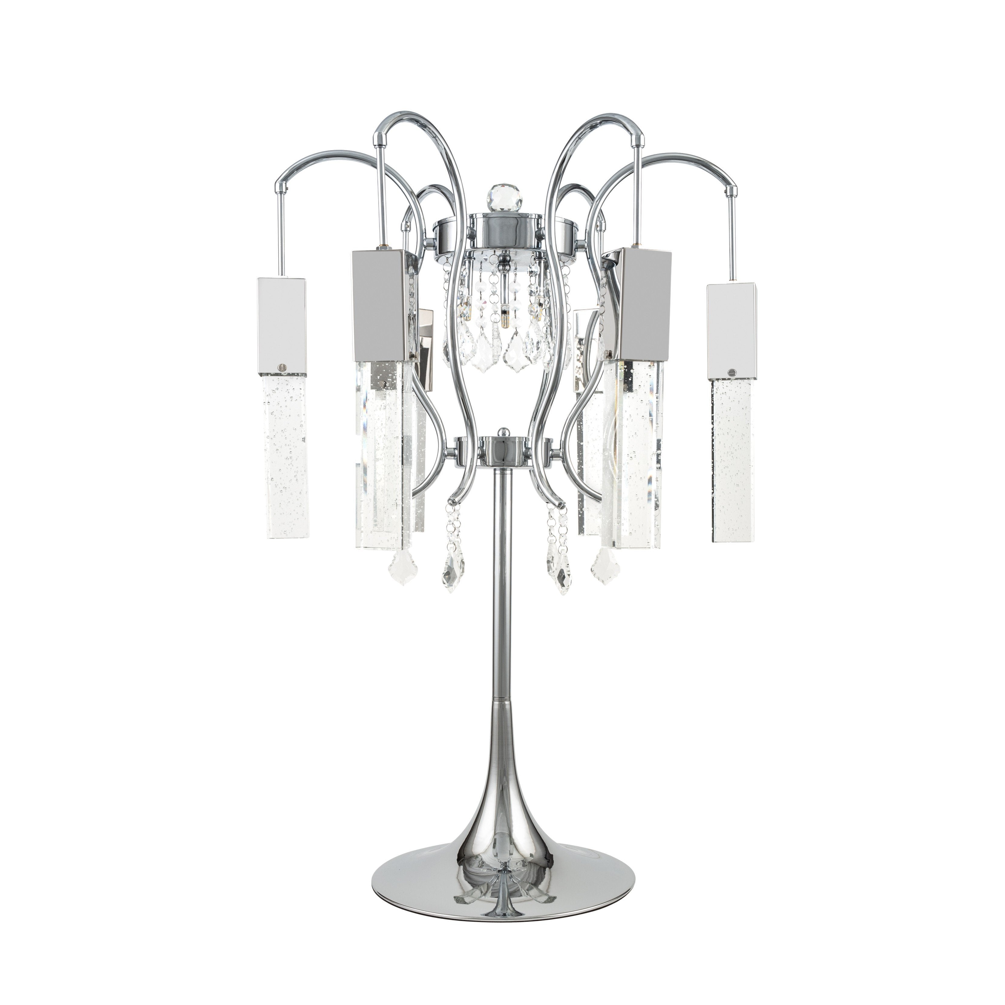 Buy Retro Chic Crystal Chandelier Table Lamp at Lifeix Design