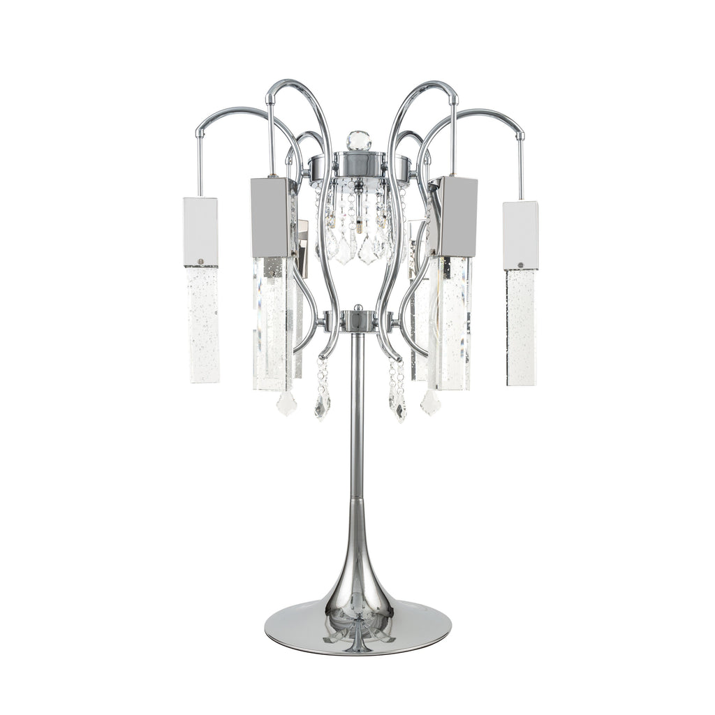 Retro Chic- Crystal Chandelier- Table Lamp