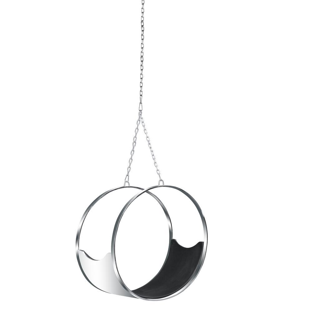 Black Ring Hanging Chair