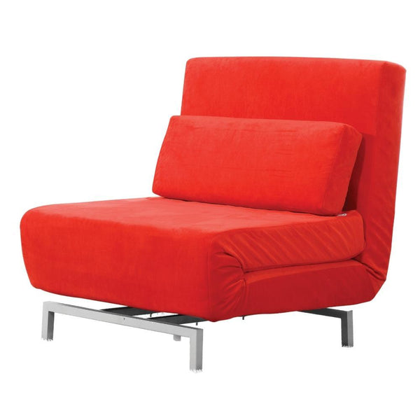 Red Romano Convertible Sofa