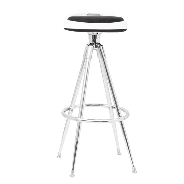 Black Sculpt Bar Stool