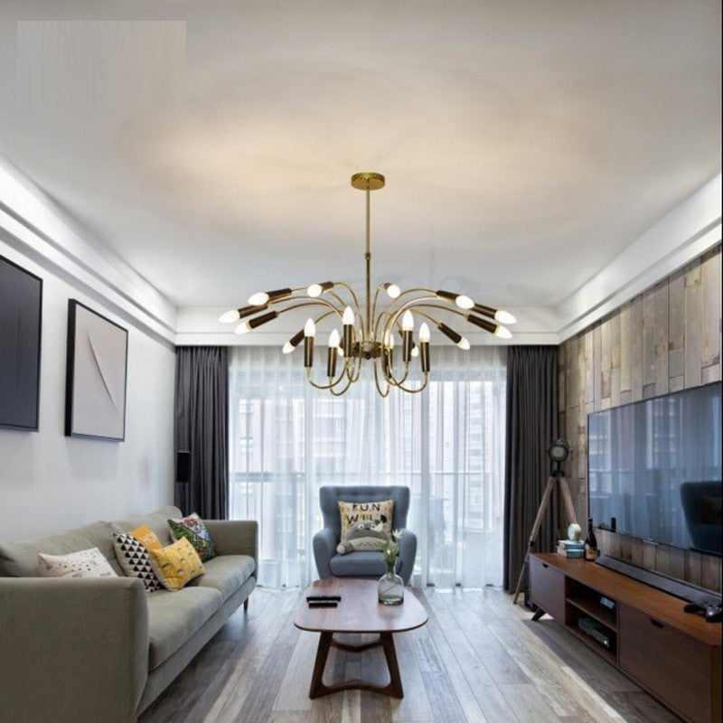 Simple American Pendant Lights Living Room Lamp