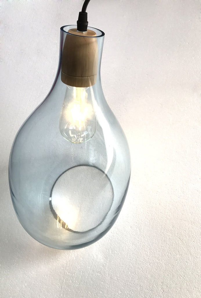 Simple Post-Modern Glass Pendant Light - Minimalistic Decoration Lighting at Lifeix Design