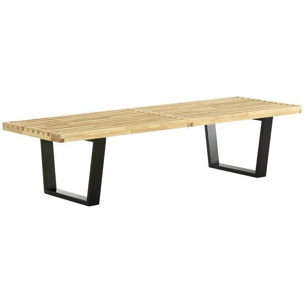 table Natural / Single Slat 5' Bench 60''