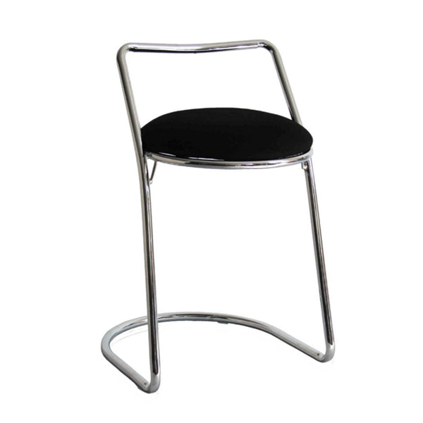 Black Sled Bar Stool