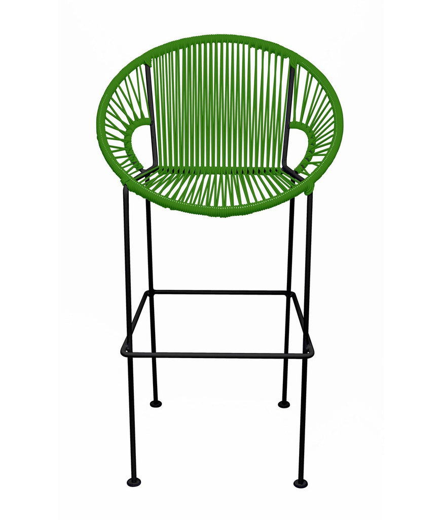 Bar Stools Cactus Small Puerto Stool (bar height 40'') on Black Frame