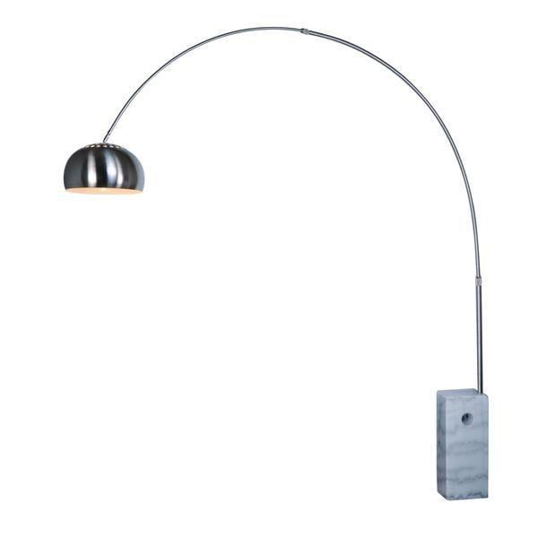 floor lamp White Base / Single SoHo Modern Arc Floor Lamp