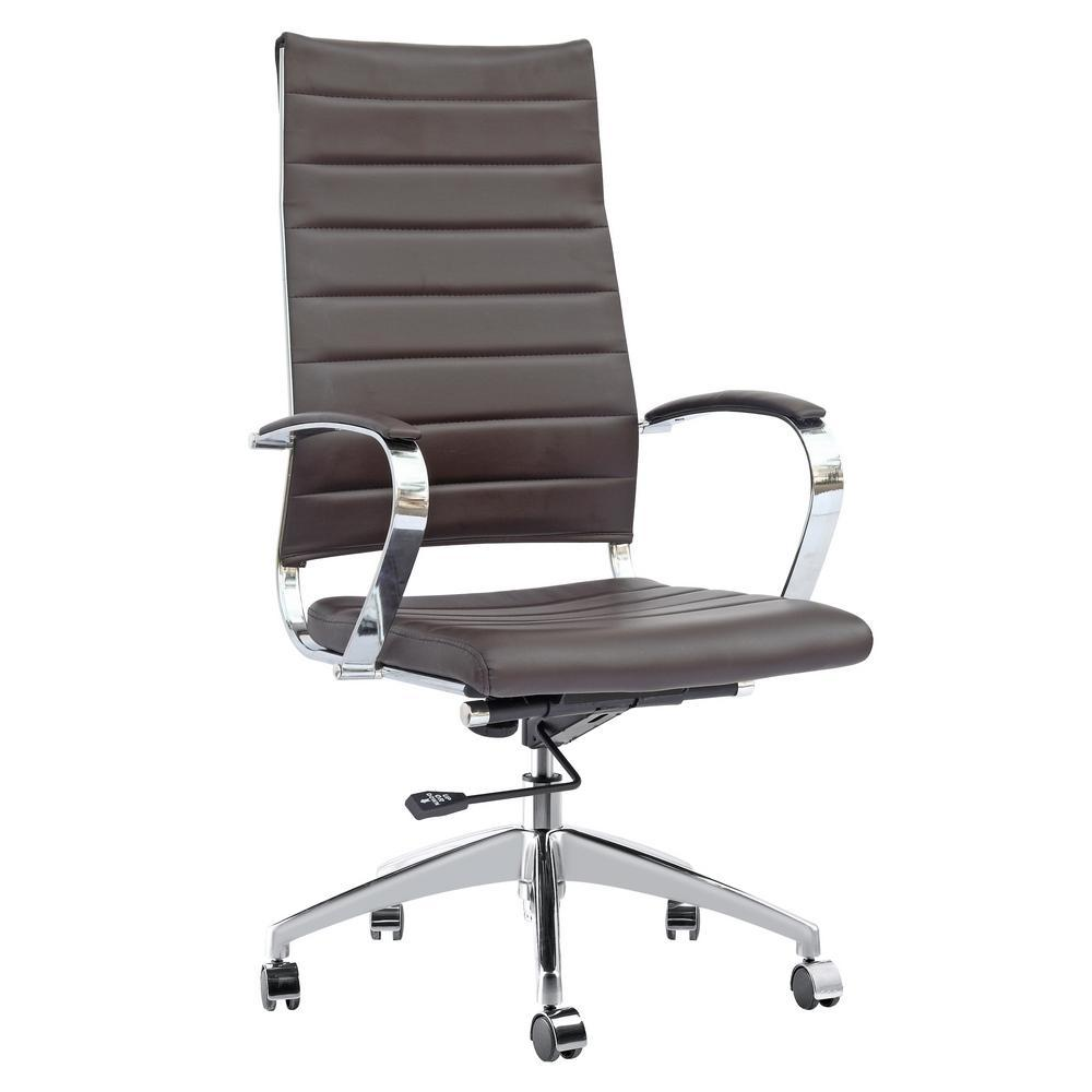 Dark Brown Sopada Conference Office Chair High Back