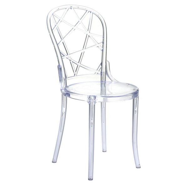 Clear Spiral Clear Chair