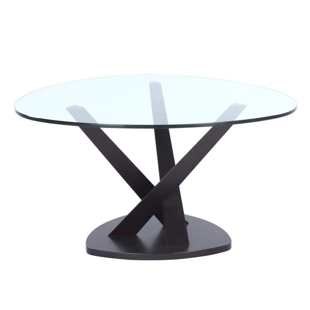 Black Split Coffee Table