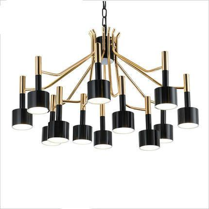 Spotlights Modern Chandelier at Lifeix Design