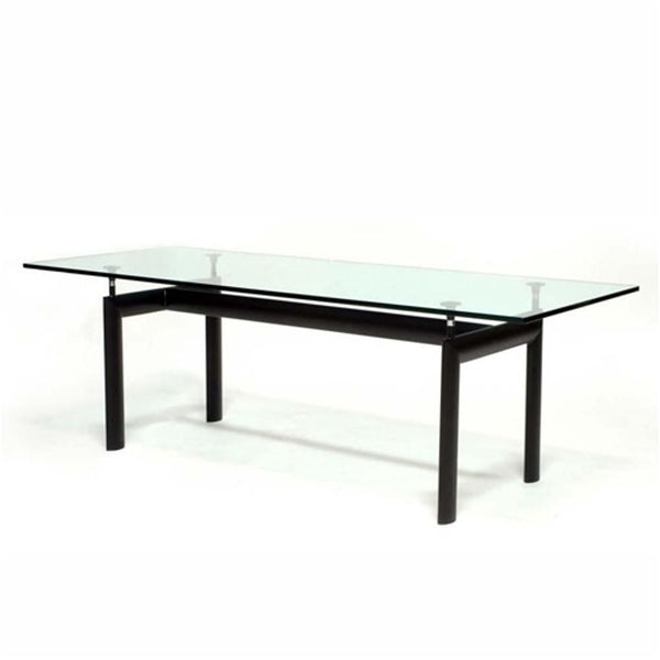 Clear Square Dining Table