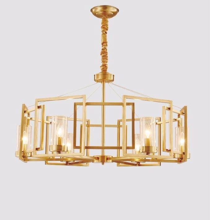 Buy SQUARE Modern Copper Pendant Light at Lifeix Design for only