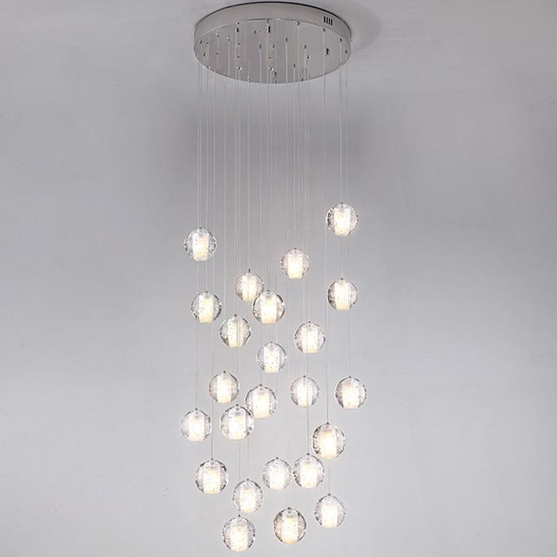 Staircase to Heaven - Modern Hanging Glass Globe Pendant Lights at Lifeix Design