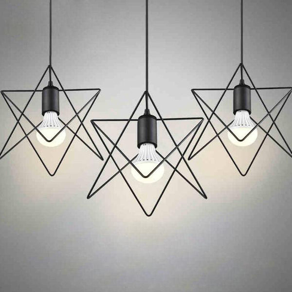 Shop for holiday sale at lifeix design chandelierpendant simple star shaped pendant lights industrialretro style mozeypictures Gallery