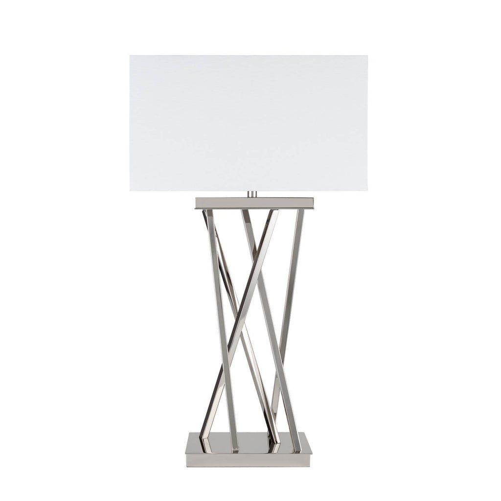 Straight Chrome - 3 Brightness Settings- Table Lamp