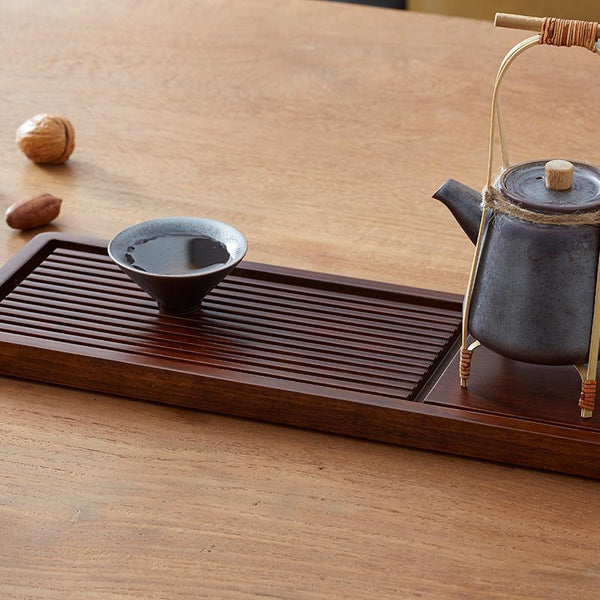 Strand Woven Bamboo Tea Tray at Lifeix Design