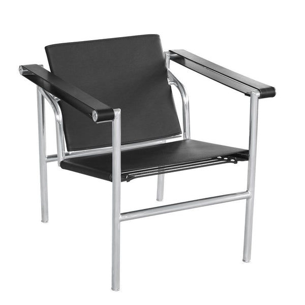 Black String Flat Chair