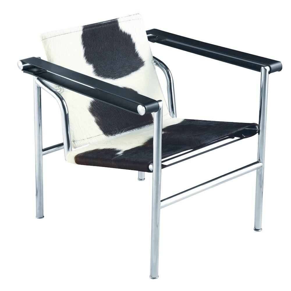 Black String Pony Flat Chair