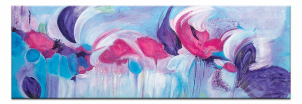 "Artwork 20x60x1.5"" Symphony Artwork by Brenda Meynell"