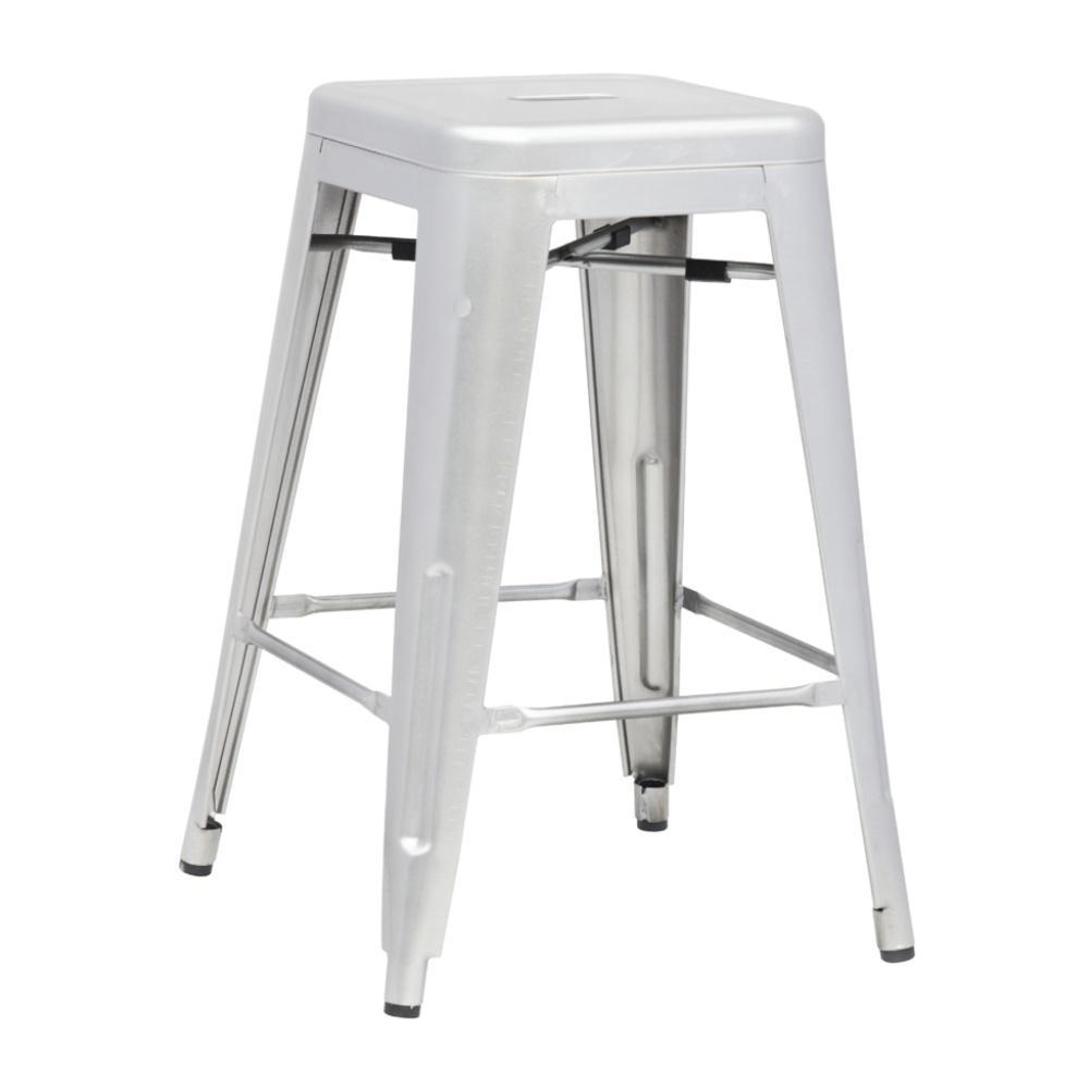 Silver Talix Counter Stool