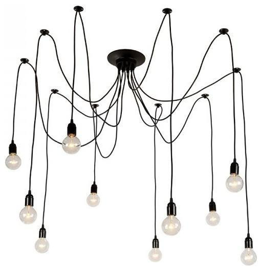 Island Light Tentacle Chandelier