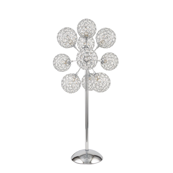Thailand Crystal Helix- Table Lamp