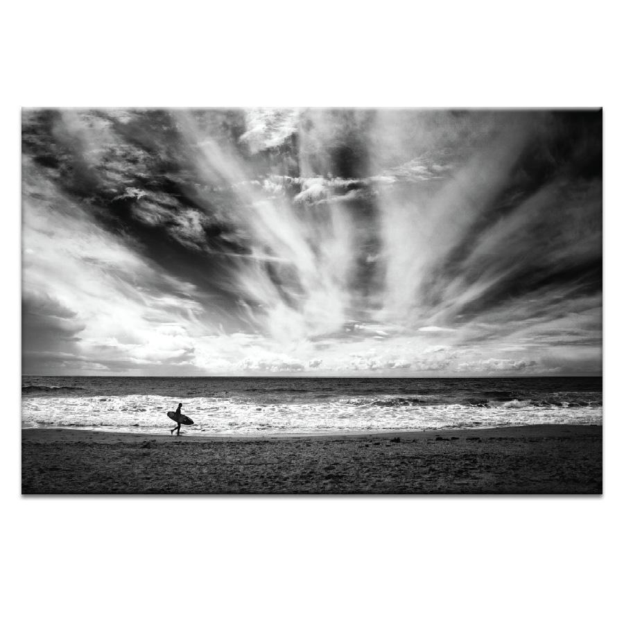 The lonely surfer Photograph Artwork Home Decor Wall Art at Lifeix Design